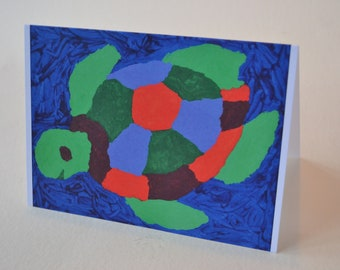 Happy Sea Turtle Card