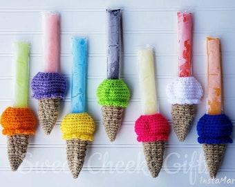 Freeze Pop Sleeve -- Ice Cream Cone