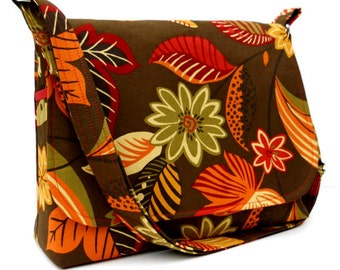 Messenger Bag - Many Fabrics - All Ready To Ship