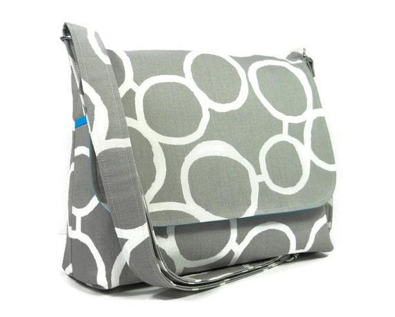 a917bf27be Gray Messenger Bag for Women Medium Cross Body Bag Gray