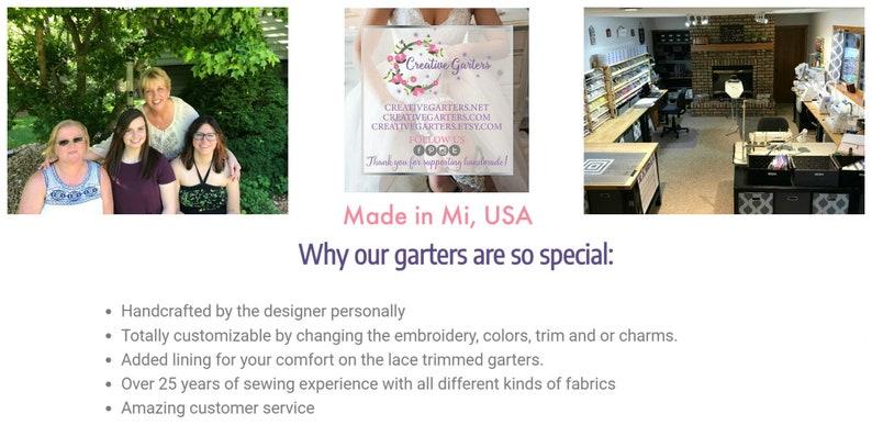 Garter for Germany German Inspired Wedding Garter Bridal Shower Gift German Flag Colors Garter Patriotic Wedding Garter -