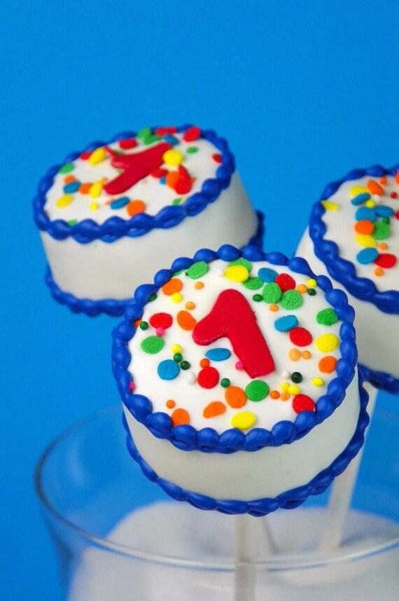 Wondrous Birthday Cake Cake Pops Etsy Funny Birthday Cards Online Alyptdamsfinfo