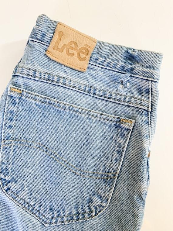 """Vintage 1980s Lee Jeans / 32"""" waist - image 7"""