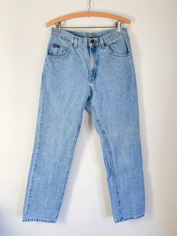 """Vintage 1980s Lee Jeans / 32"""" waist - image 2"""