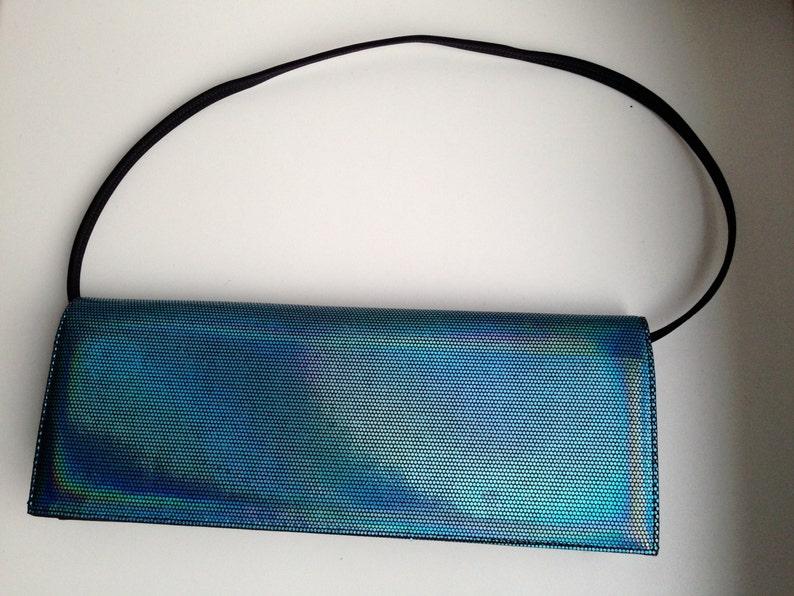 1990/'s Blue Glitter Clutch DI SANDRO