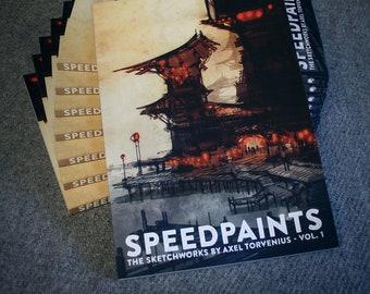 Speedpaints, the sketchworks by Axel Torvenius vol 1 - BOOK