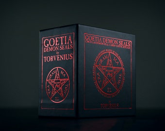 Ars Goetia Demons seals round cards by TORVENIUS - CARD DECK (limited edition)