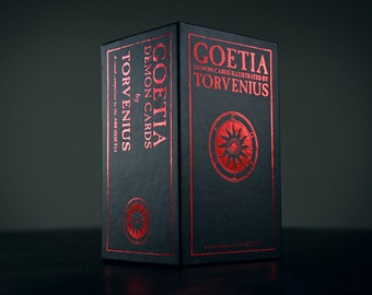 Ars Goetia Demons Cards by TORVENIUS - CARD DECK (limited edition)