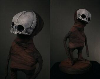 """Sculpture midget """"Julian"""" - mixed media"""