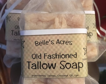 Tallow & Goatmilk Soap Cedarwood/Patchouli
