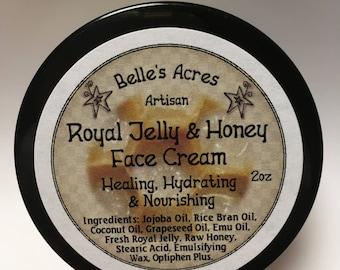 Royal Jelly & Raw Honey Face Cream