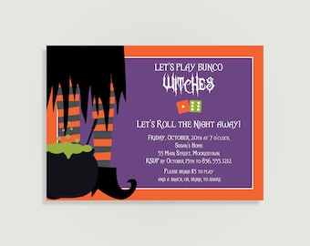 Bunco invitations Etsy