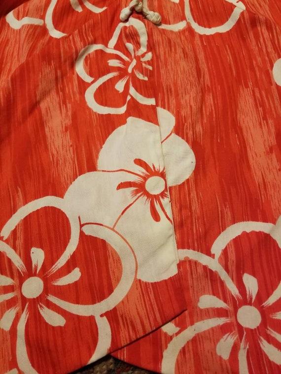 Hawaiian Dress / 50s 60s Tori Richard Sarong Dres… - image 8