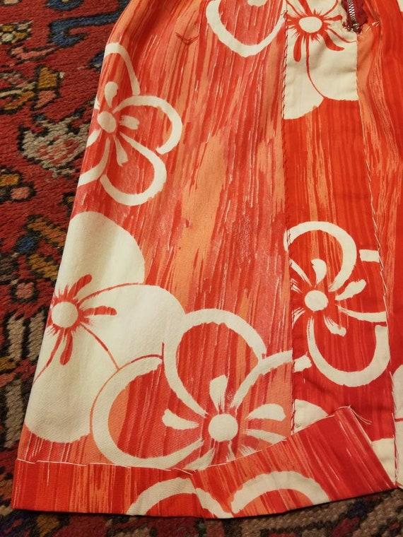Hawaiian Dress / 50s 60s Tori Richard Sarong Dres… - image 9
