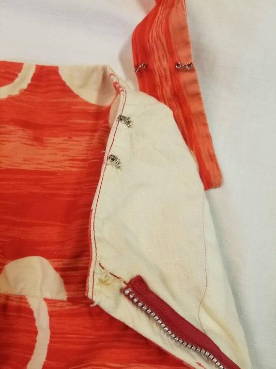 Hawaiian Dress / 50s 60s Tori Richard Sarong Dres… - image 4