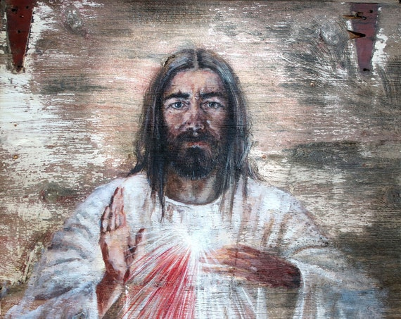 Divine Mercy, giclee print