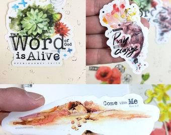 Open Journey Vinyl Stickers