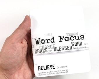 Open Journey Word Focus Cards