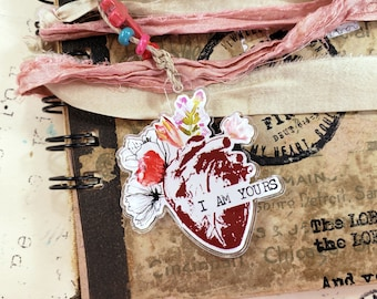 Journal Charm: I am Yours