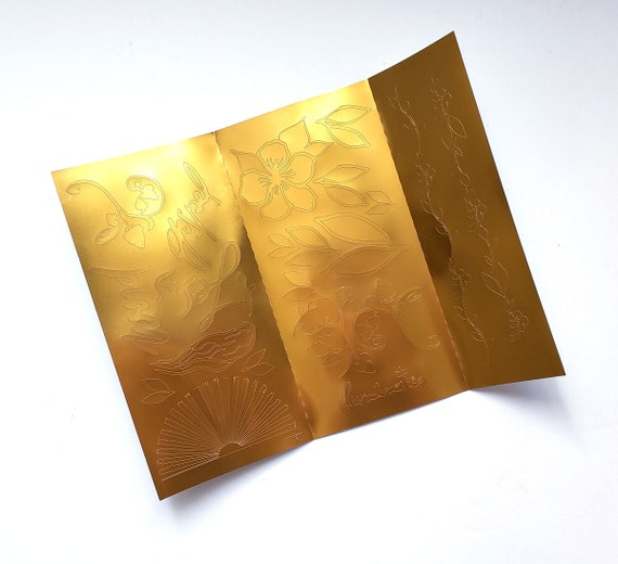 Illuminated kit elements - Gold foil stickers