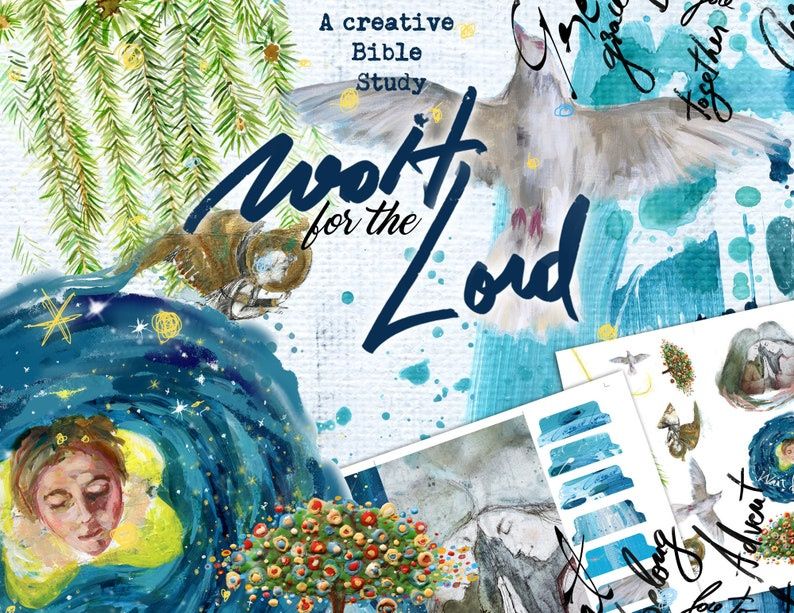 Wait for the Lord an Advent creative bible study  digital image 0