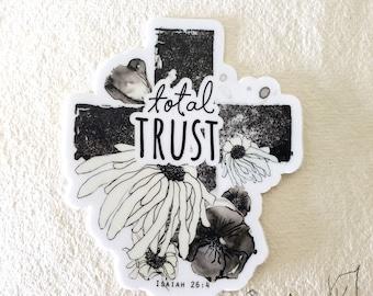 Total Trust - sticker