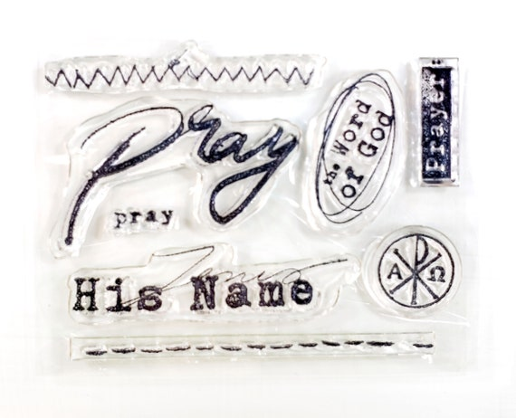 Prayer of the Heart elements - Stamp Set