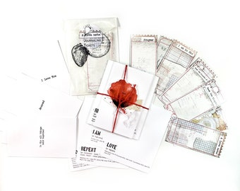 Do you love Me?- ADD ON journaling cards and tickets