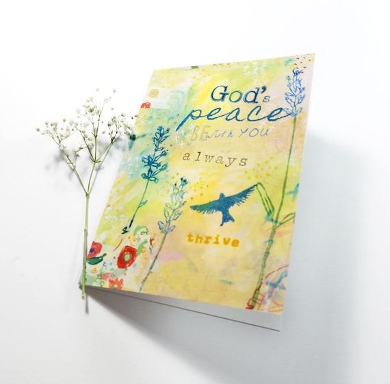 God's Peace Note Card 5x7