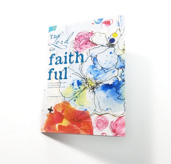 The Lord is Faithful Note Card 5x7
