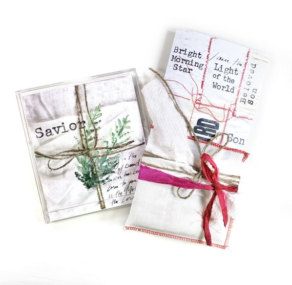 Receiving the Gift- an Advent Bible journaling creative devotional kit