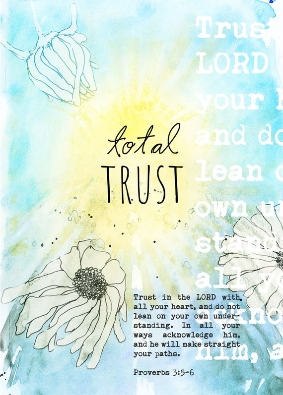 Total Trust Note Card 5x7