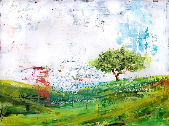 The Olive Tree-Psalm 1 - fine art print