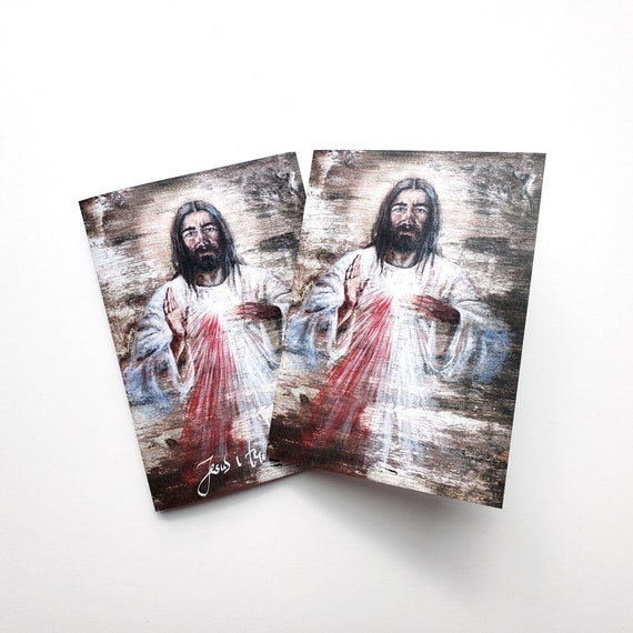 Divine Mercy, note cards set of 5
