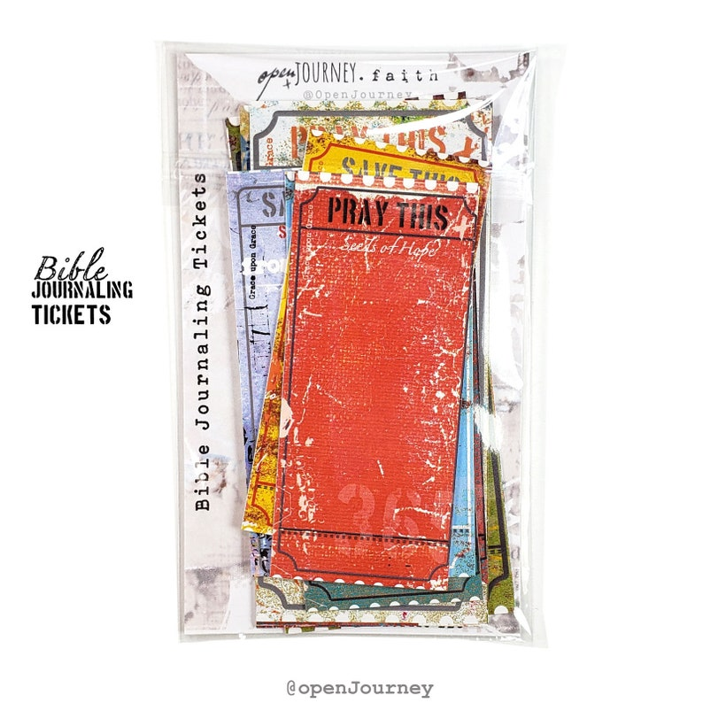 Open Journey Journaling Tickets
