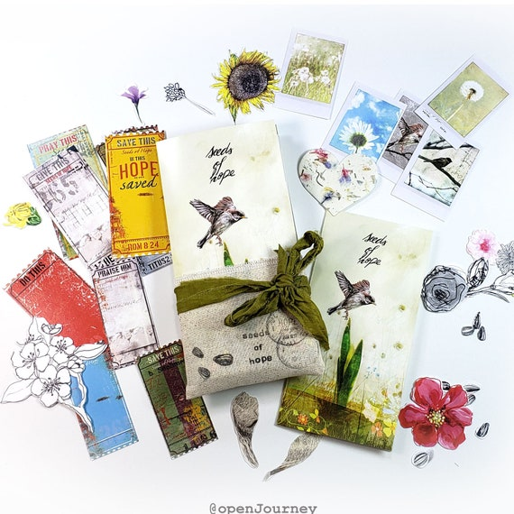 Seeds of Hope- a creative bible study / Bible journaling creative devotional kit
