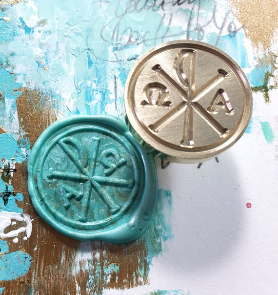 Christogram  - wax seal stamp