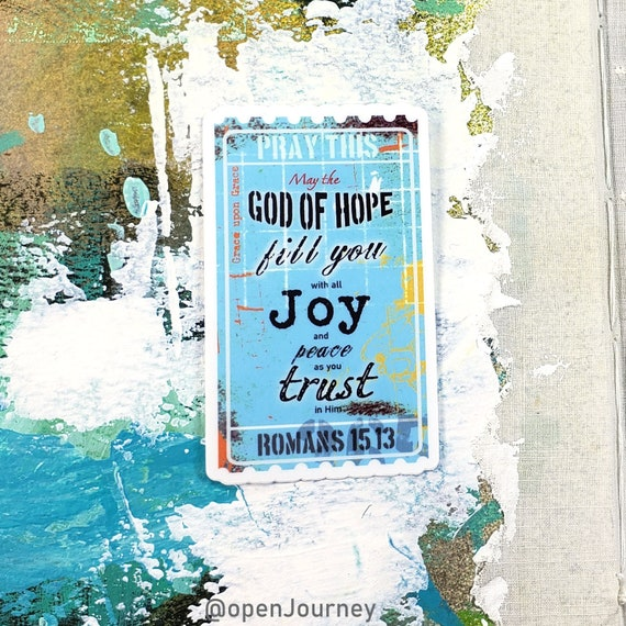 God of Hope - sticker
