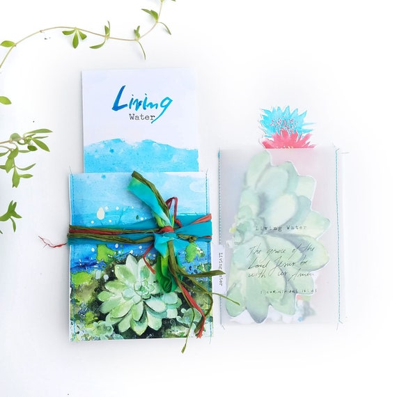 Living Water - a Bible journaling creative devotional kit
