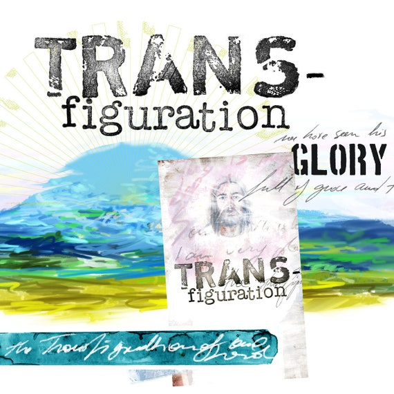 The Transfiguration- a creative bible study, Bible journaling creative devotional - digital download