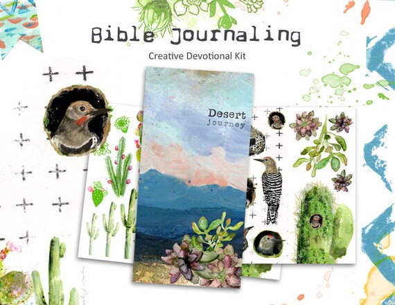Desert Journey - a Bible journaling creative devotional -digital download