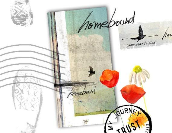 Homebound - a Bible journaling creative devotional -digital download