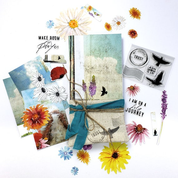 Homebound - a Bible journaling creative devotional kit