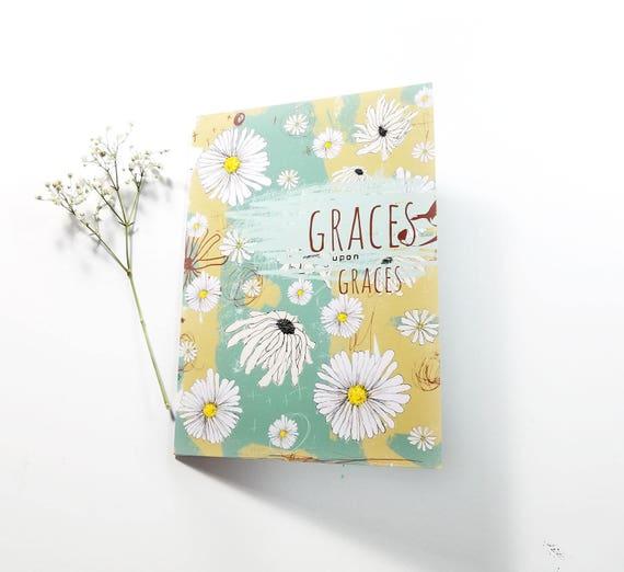 Graces upon Graces Note Card 5x7