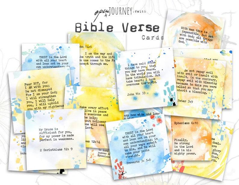 Open Journey Verse Cards