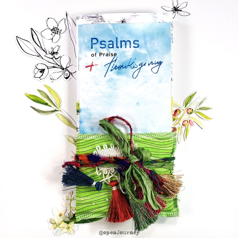 Psalms of Thanksgiving and praise a creative bible study / image 0