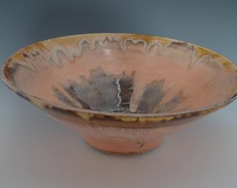 Large Pottery Bowl Two Quart