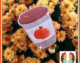 Pumpkin Spice Latte Headband Slider by Twincess Bowtique