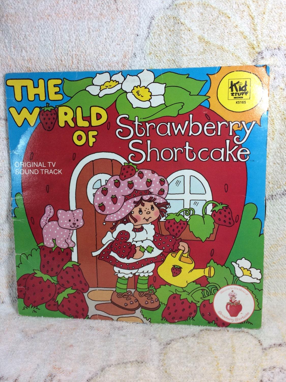Clearance 1980 Strawberry Shortcake Vinyl Record Album The Etsy