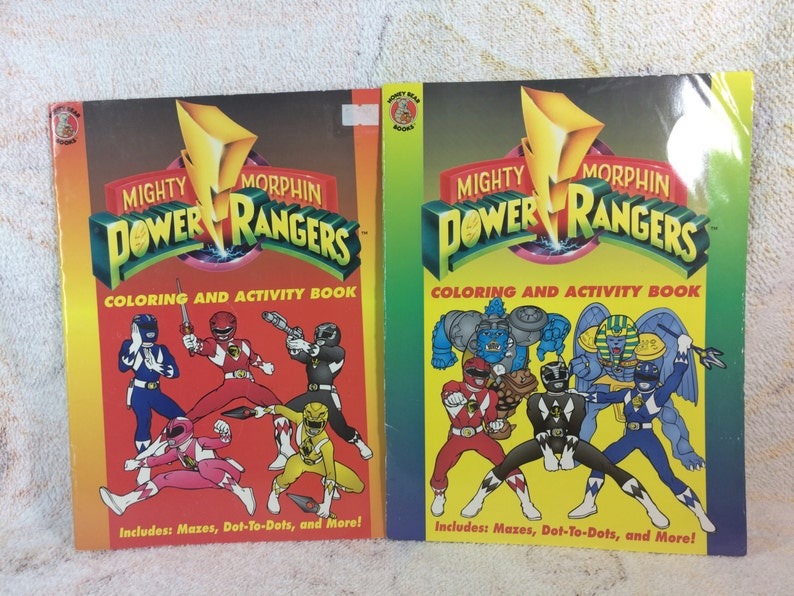 Old Vintage Mighty Morphan Power Ranger Stickers 50 Pack